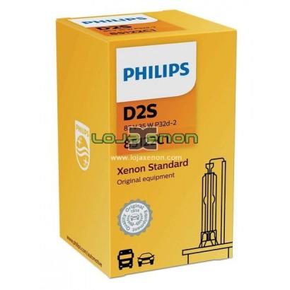 Lâmpada Xenon Philips Gama Original Vision - D1s, D2s, D2r, D3s, D4s, D5s