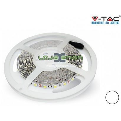 Fita LED 60 SMD 5050 IP20 5 metros V-Tac - 12v