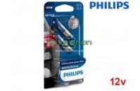 Lâmpadas Halogéneo H6W/BAX9s Philips WhiteVision 12V/6W