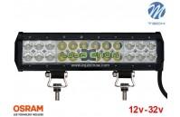 "Barra de LED 72w 4800Lm LED Osram Plana Combo 12"" 10-32v M-Tech"