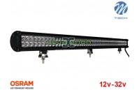 "Barra de LED 306w 20400Lm LED Osram Plana Combo 47"" 10-32v M-Tech"