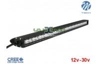 "Barra de LED 160w 11200Lm LED CREE Plana Combo 32"" 10-32v M-Tech"