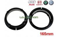 Aros para colunas Audi A2, Seat Leon 1M, VW Golf 4, VW Passat 165mm