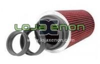 Filtro de ar K&N RG-1002RD Universal - com anéis de adaptação