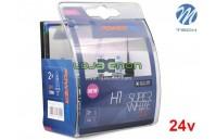 Lâmpadas Halogéneo tipo Xenon Super White - DUO Pack 24v