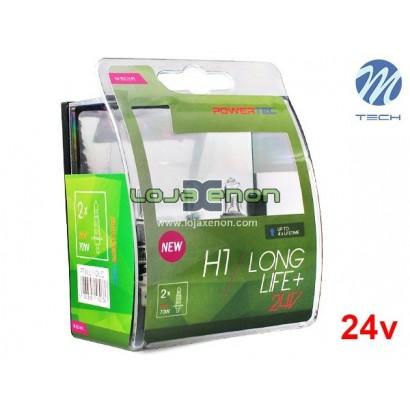Lâmpadas Halogéneo Long Life - DUO Pack 24v