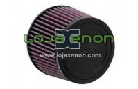Filtro de Ar K&N R-1380 Universal de Borracha Lavável e Reutilizável