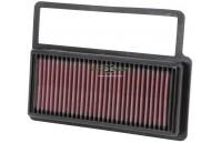 Filtro de ar K&N 33-3014 Abarth, Fiat, Opel