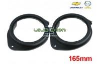 Aros para colunas Chevrolet Cruze, Opel Astra J, Insignia, Meriva 165mm