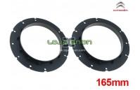 Aros para colunas Citroen C3 165mm