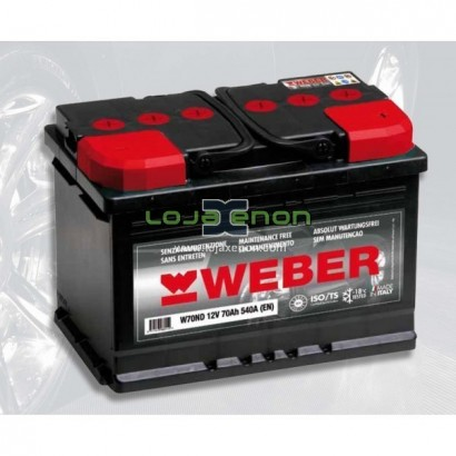 Bateria Weber - Magneti Marelli 60AHR 420A(EN)