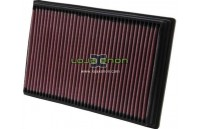 Filtro de ar K&N 33-2649 Seat, Skoda, VW, Cadillac