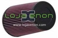 Filtro de Ar K&N RE-0810 Universal de Borracha Lavável e Reutilizável
