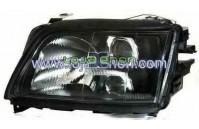Faróis fundo preto Audi A6 C4 (1994-1997)