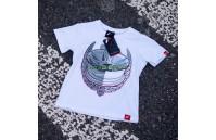 T-Shirt Junior JR-21 Laurel Japan Racing - Branco