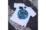 T-Shirt Junior Trust Japan Racing - Branco