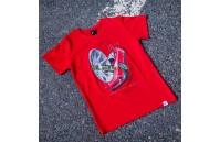 T-Shirt Homem JR-11 Car Japan Racing - Vermelho