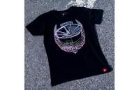 T-Shirt Homem JR-21 Laurel Japan Racing - Preto
