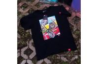 T-Shirt Homem Mix-2 Japan Racing - Preto