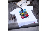 T-Shirt Homem Mix-2 Japan Racing - Branco