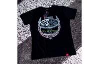 T-Shirt Homem JR-11 Laurel Japan Racing - Preto