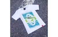 T-Shirt Mulher JR-20 Face Japan Racing - Branco