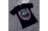 T-Shirt Mulher JR-21 Laurel Japan Racing - Preto