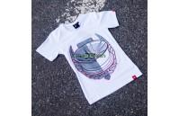 T-Shirt Mulher JR-21 Laurel Japan Racing - Branco