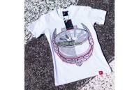 T-Shirt Mulher JR-11 Laurel Japan Racing - Branco