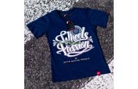 T-Shirt Mulher Passion Japan Racing - Azul Navy
