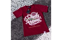 T-Shirt Mulher Passion Japan Racing - Vermelho Ruby