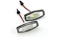 Farolins de matrícula em Led Honda Civic / City / Legend / Accord