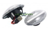Farolins Laterais LED Normal Transparente Mini R50, R52, R53