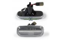 Farolins Laterais LED Normal Transparente Audi A2 8Z, A3 8L, A4 B5, A6 C5, A8 4D, TT 8N