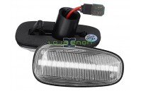 Farolins Laterais LED Dinâmico Transparente Opel Astra G, Zafira A