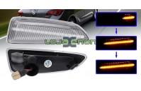 Farolins Laterais LED Dinâmico Transparente Opel Astra J, Astra K, Insignia B, Zafira C, Grandland X