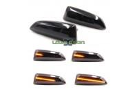 Farolins Laterais LED Dinâmico Escurecido Opel Astra J, Astra K, Insignia B, Zafira C, Grandland X