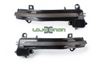 Farolins Espelho Retrovisor LED Dinâmico Escurecido BMW F20, F21, F22, F30, F31, F32, F33, F34, F35, F36, E84