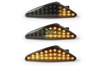 Farolins Laterais LED Dinâmico Escurecido BMW X3 F25, X5 E70, X6 E71