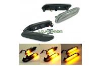 Farolins Laterais LED Dinâmico Escurecido Mini R60, R61