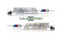 Farolins Laterais LED Dinâmico Transparente M BMW E46 5 Portas 2002-2005 Lci