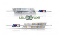 Farolins Laterais LED Dinâmico Transparente M BMW E46 3/5 Portas 1998-2001