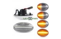 Farolins Laterais LED Dinâmico Transparente Mercedes-Benz W168, W415, W447, W639