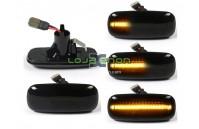 Farolins Laterais LED Dinâmico Escurecido Audi A2 8Z, A3 8L, A4 B5, A6 C5, A8 4D, TT 8N