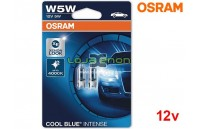 Osram Cool Blue Intense 4000K W5W DUO - 5W HALOGÉNEO
