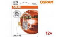 Lâmpada Halogéneo H3 Gama Original Osram - Pack Individual Blister