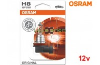 Lâmpada Halogéneo H8 Gama Original Osram - Pack Individual Blister