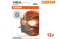 Lâmpada Halogéneo HB3 Gama Original Osram - Pack Individual Blister