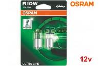 Lâmpadas Halogéneo R10W BA15s Ultra Life Osram - Pack Duo Blister