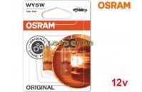Lâmpadas Halogéneo WY5W Gama Original Osram - Pack Duo Blister